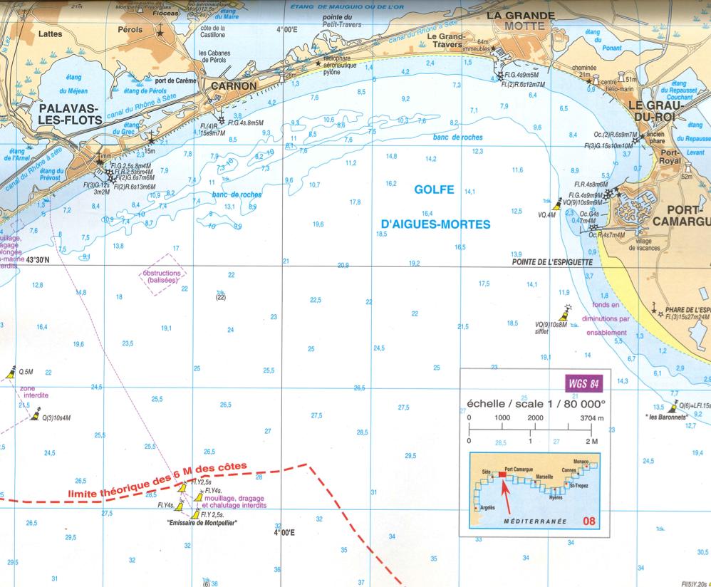 Location d 39 un bateau sans permis entre carnon et palavas - Meteo marine de cerbere a port camargue ...