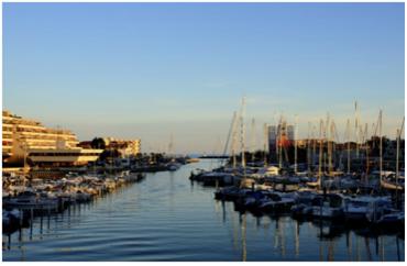 La place de notre entreprise de location de bateaux dans le projet d'aménagement urbain de Carnon 2030