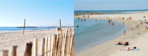 réouverture plage Palavas